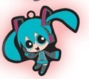 Vocaloid X Powerpuff Girls Miku Key Chain