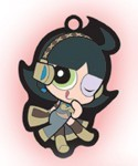 Vocaloid X Powerpuff Girls Buttercup Key Chain