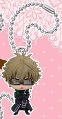 Amnesia Kent Mascot Swing Key Chain