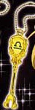 Fairy Tail Libra Lucy's Celestial Key Key Chain