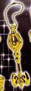 Fairy Tail Taurus Lucy's Celestial Key Key Chain