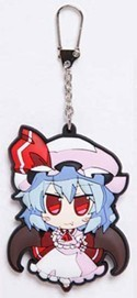 Touhou Project Remilia Scarlet Akaneya Rubber Key Chain