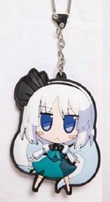 Touhou Project Youmu Akaneya Rubber Key Chain