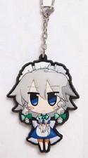Touhou Project Sakuya Akaneya Rubber Key Chain