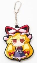 Touhou Project Yukari Akaneya Rubber Key Chain