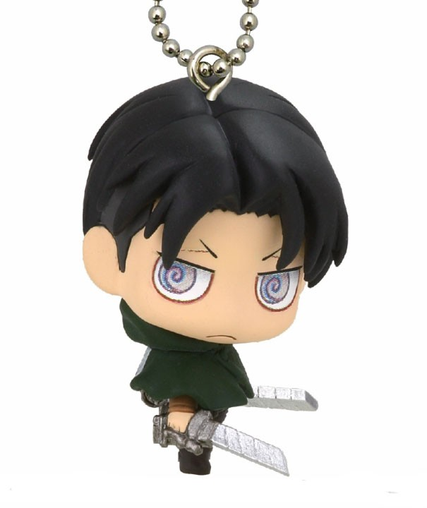 Attack on Titan Levi Mascot Key Chain