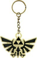 Zelda Princess Logo Metal Key Chain