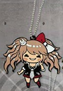 Super Dangan Ronpa Junko Rubber Key Chain