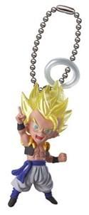 Dragonball Z Super Saiyan Gogeta Halo UDM 5 Mascot Key Chain
