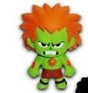 Street Fighter Akuma Color Var. Mascot Key Chain