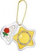 Sailor Moon Mask and Locket Ichiban Kuji F Prize Key Chain