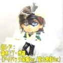 Tiger and Bunny Real Face Swing Kotetsu Maskt Blue Eyes Mascot Key Chain