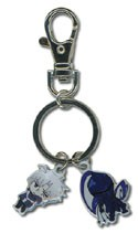 Fate Zero Matou and Berserker Metal Key Chain