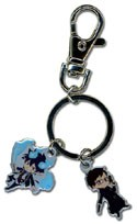 Blue Exorcist Rin and Yukio Metal Key Chain