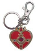 Sailor Moon Heart Locket Shaped Metal Key Chain