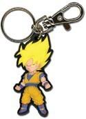 Dragonball Z SS Goku PVC Key Chain