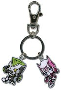 Tiger and Bunny Metal Charm Key Chain
