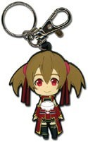 Sword Art Online SD Silica PVC Key Chain
