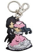 Black Butler SD Sebastian and Ciel Crossdressing Key Chain