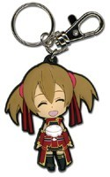 Sword Art Online Silica Smiling Key Chain