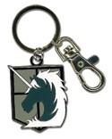 Attack on Titan Military Police Metal Key Chain
