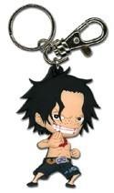 One Piece Ace SD Key Chain