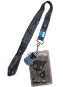 Blue Exorcist Blackie Lanyard Key Chain