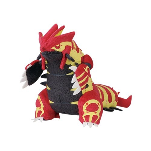 Pokemon 3'' Groudon Plush Key Chain