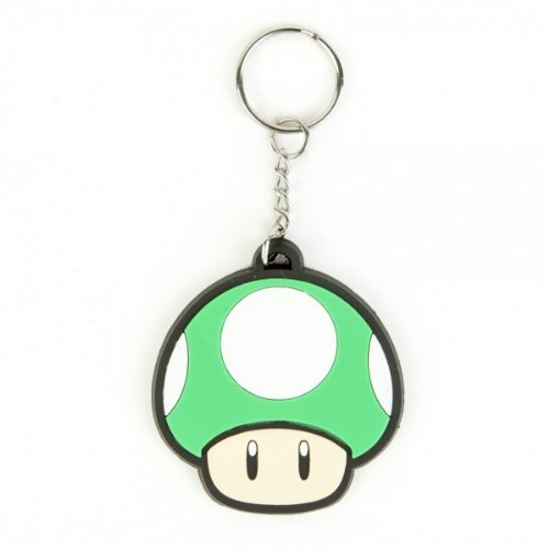 Nintendo 1 Up Rubber Key Chain