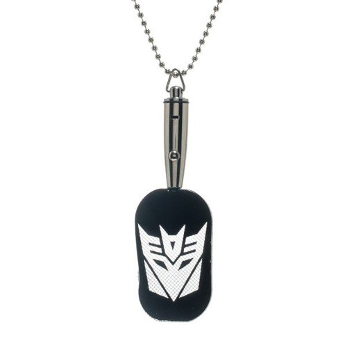 Transformers LED Dog Tag Key Chain
