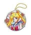 Sailor Moon Crystal 3'' Sailor Moon Stained Glass Style Key Chain
