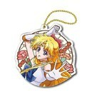 Sailor Moon Crystal 3'' Sailor Venus Stained Glass Style Key Chain
