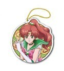 Sailor Moon Crystal 3'' Sailor Jupiter Stained Glass Style Key Chain