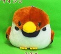 Kotori Tai Fluffy Birds 3'' Suzume Sparrow Amuse Prize Plush Key Chain