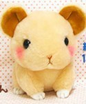 Cute Baby Animals 3'' Tan Mouse Amuse Plush Key Chain