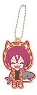 Free! - Iwatobi Swim Club Rin Eternal Summer Rubber Key Chain