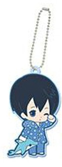 Free! - Iwatobi Swim Club Haruka Eternal Summer Rubber Key Chain