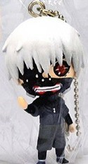 Tokyo Ghoul Kaneki Ghoul Ver. Mascot Key Chain