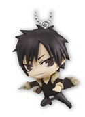 Durarara!! Izaya Action Mascot Key Chain
