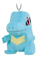 Pokemon 4'' Totodile Plush Key Chain