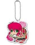 Yu Yu Hakusho Kurama White Outfit Acrylic Key Chain