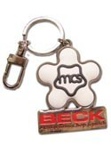 Beck MCs Round Star Metal Key Chain