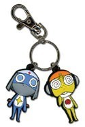 Sergeant Frog Kululu and Dororo PVC Key Chain