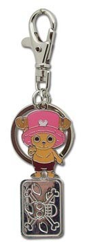 One Piece Chopper Metal Key Chain