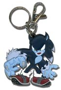 Sonic the Hedgehog Werehog Key Chain