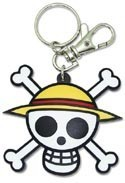 One Piece Skull Key Chain