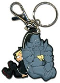 Fullmetal Alchemist Brotherhood Ed and Al Key Chain