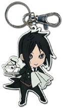 Black Butler Sebastian SD Key Chain