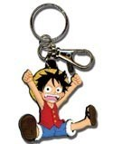 One Piece SD Luffy Key Chain