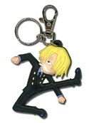 One Piece Sanji PVC Key Chain